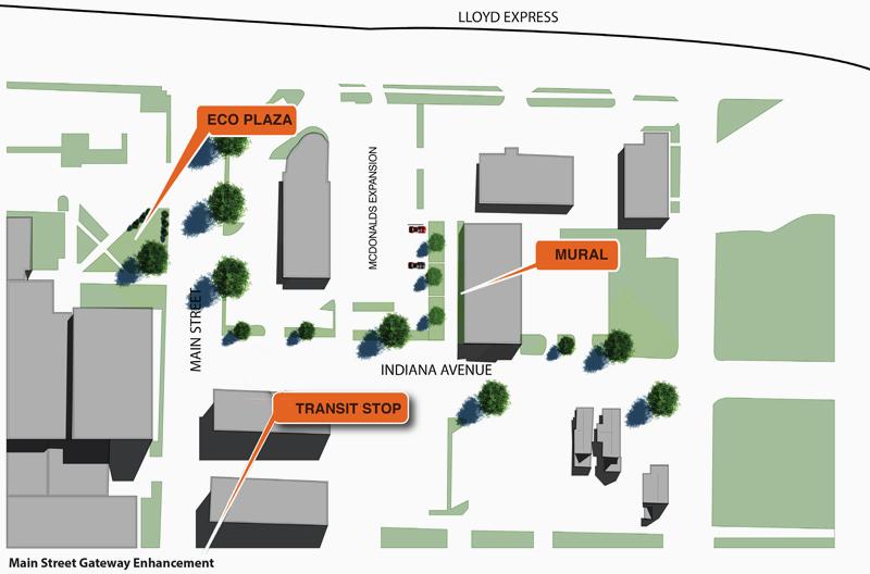 Lloyd Expressway & Main Street | Jacobsville